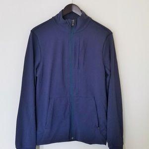 LULULEMON Athletica Blue Zip Up Jacket Small Yoga